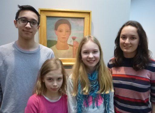 Besuch des Bucerius Kunst Forums – Schüler führen Schüler