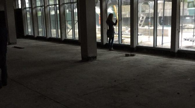 Neubau – Begehung im Juni