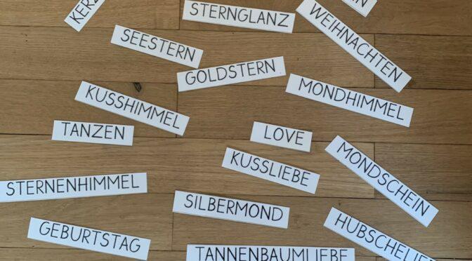 """Wörterfabrik -ein """"Miteinander""""-Projekt"""